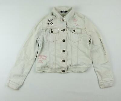 George Girls White Jacket Age 7-8