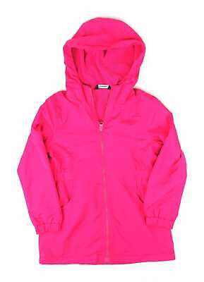 George Girls Pink Light Weight Warm Coat Age 5-6