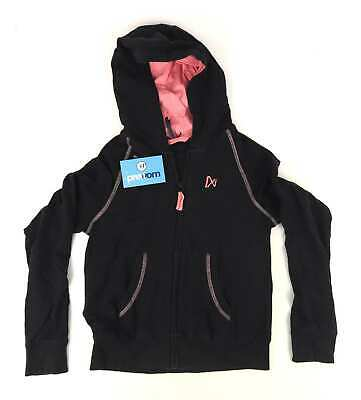 Next Girls Blue Hooded Pink Jacket Age 12