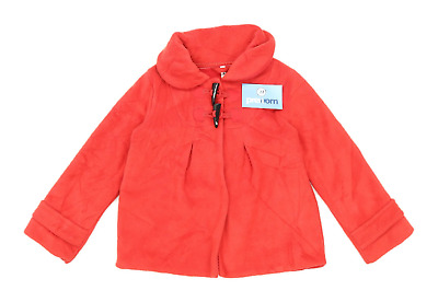 Next Girls Red Midweight Duffel Coat Age 7