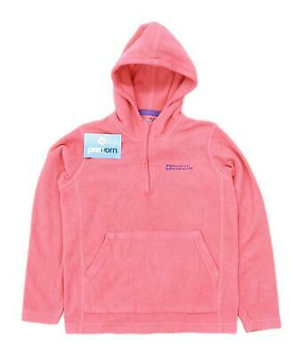 Mountain Warehouse Girls Peach Lightweight Fleece Age 11-12
