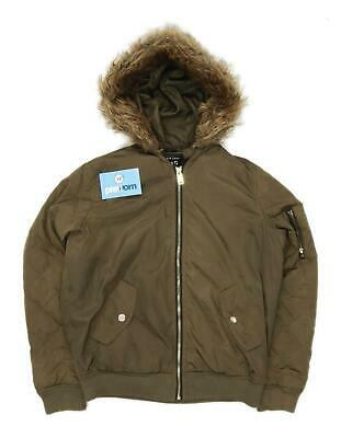 New Look Girls Brown Midweight Coat Age 12-13