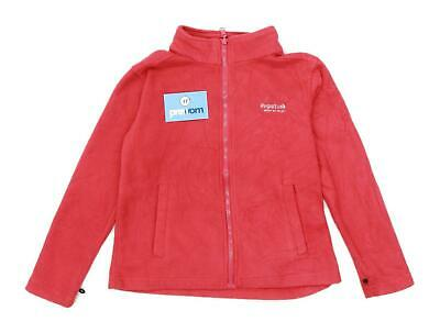 Regatta Girls Pink Lightweight Zipped Fleece Age 9-10