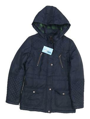 New Look Girls Blue Midweight Coat Age 12-13