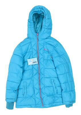 Mountain Warehouse Girls Blue Lightweight Coat Age 9-10