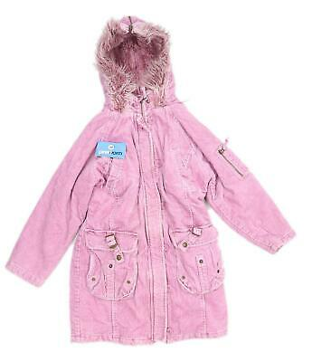Next Girls Pink Coat Age 9-10