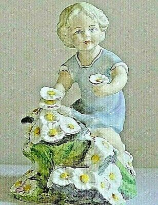 ROYAL WORCESTER PORCELAIN ~ Months Of The Year Figurine ~ MAY ~ 3455.