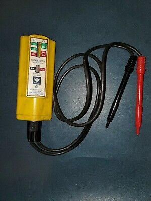 Ideal Industries AC/DC  Voltage Tester 61-065 115-600 Volts