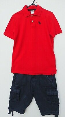 Fab Bundle of ABERCROMBIE & FITCH Polo Shirt & SOULCAL Cargo Shorts age 11-12 yr