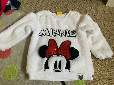 Tu Minnie Mouse Jumper 3-4 Years Lovely Used Condition