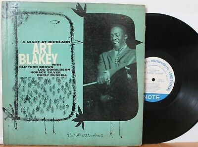 "Art Blakey LP ""A Night At Birdland Vol.2"" ~ Blue Note 1522, Lex, Ear, RVG, Flat"