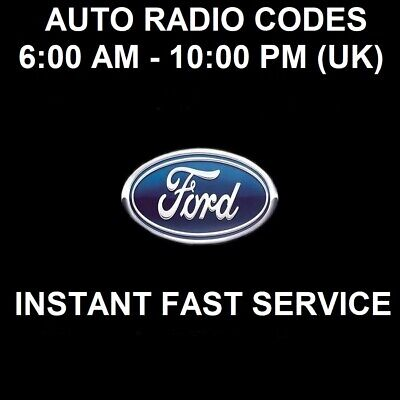 FORD FOCUS RADIO CODE SERVICE - ONLY 99p