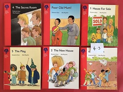 Oxford Reading Tree Biff Chip And Kipper Scheme Books Stage 4.  Lot 4.3
