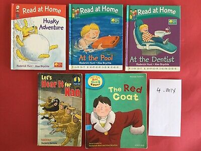 Oxford Reading Tree Biff Chip And Kipper Reading Scheme Books Stage 4 Mix Lot