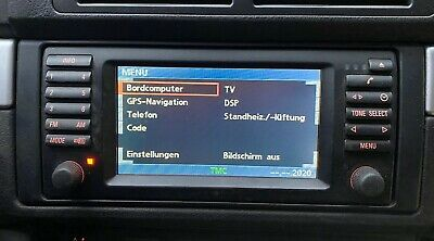 BMW E39 Bordmonitor 16:9 Wide Screen Navigation Bildschirm Monitor Facelift