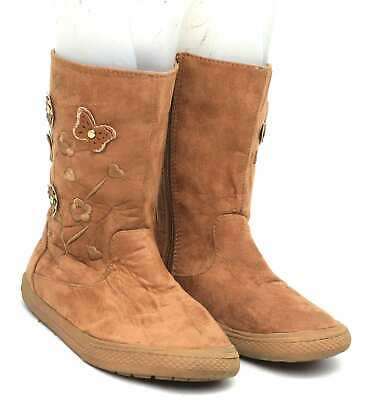 Young Dimension Girls UK Size 13 Brown Boots
