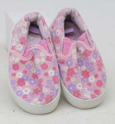 Young Dimension Girls UK Size 3 Pink Plimsolls
