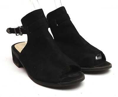 Young Dimension Girls UK Size 1 Black Heels Shoes