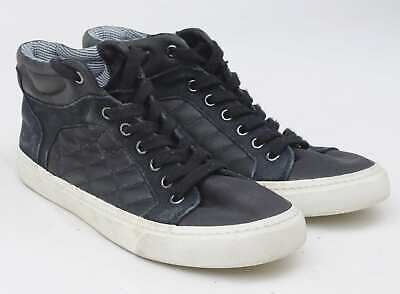 Marks & Spencer Boys UK Size 6 Black High Top Trainers