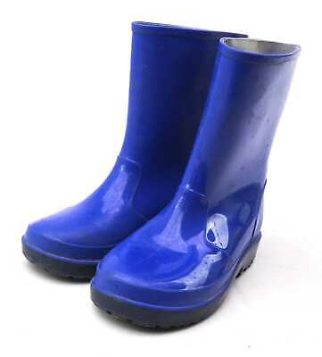 Marks & Spencer Boys UK Size 11 Blue Wellington Boots