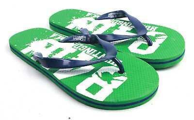 Marks & Spencer Boys UK Size 6 Green Flip-Flops