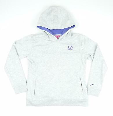LA Gear Girls Grey Hoodie Age 11-12