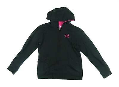 LA Gear Girls Black Hoodie Age 13
