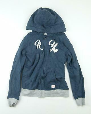 Pepperts Girls Blue Hoodie Age 11-12
