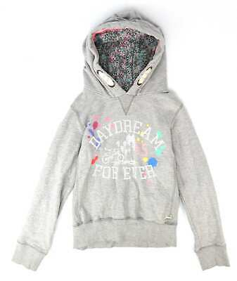 Next Girls Grey Hoodie Age 15