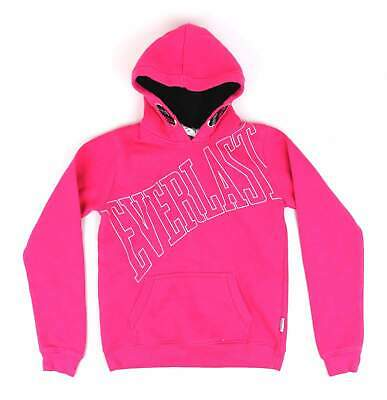 Everlast Girls Pink Graphic Hoodie Age 13