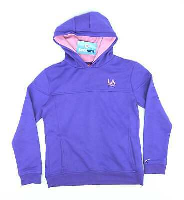 LA Gear Girls Purple Sports Running Hoodie Age 11-12