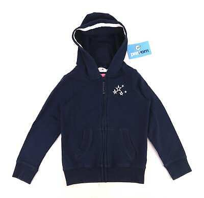 Next Girls Graphic Blue Autumn Warm Casual Stars Hoodie Age 6