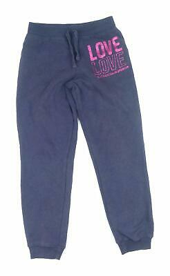 Young Dimension Girls Blue Joggers Age 8-9