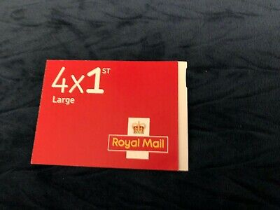 Royal Mail 1st Class Large Letter Postage Stamps - 4 Pieces