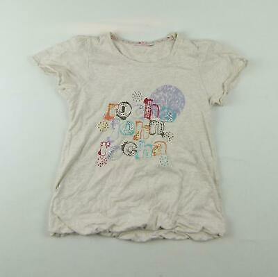 Debenhams Girls Grey Graphic T-Shirt Age 9-10