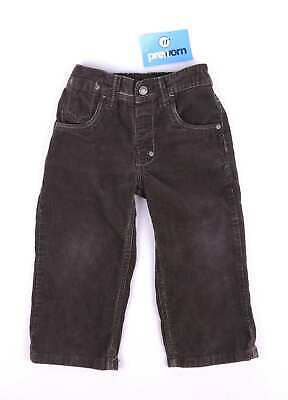 Next Boys Brown Corduroy Trousers Age 2-3