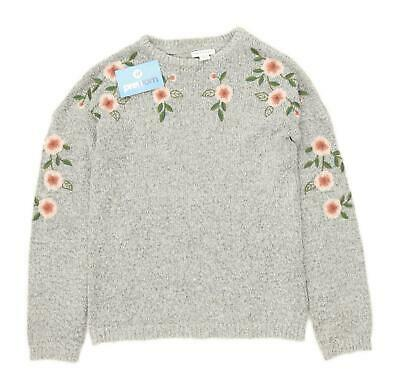 Primark Girls Floral Multi-Coloured Lightweight Jumper Age 11-12