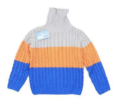 Marks & Spencer Boys Multi-Coloured Midweight Jumper Age 6-7