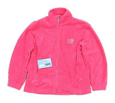 Karrimor Girls Pink Lightweight Jumper Age 9-10