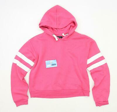 New Look Girls Pink Lightweight Hoodie Age 14-15