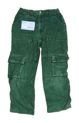 Vertbaudet Boys Green Cargo Jeans Age 6