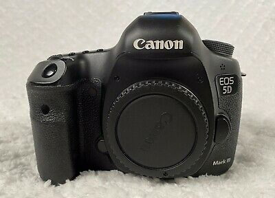 Canon EOS 5D Mark III 22.3MP Digital SLR Camera - Black  No Reserve!