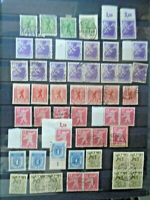 Early Lot Stadt Berlin Vf Used Vf Mlh Vf Mnh Germany Deutschland B299.33 0.99$