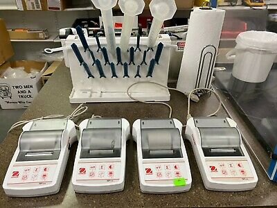 OHAUS 30064203 White Printer, Connection Ports (1) RS-232 $200.00 each