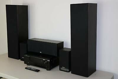 Denon AVR-391 Home Theater System With 5 Best Speakers