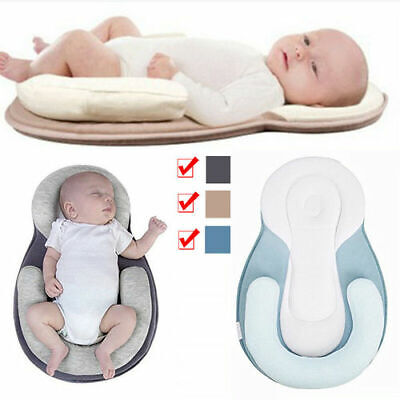 Anti-Head Baby Pillow Corrects Side Sleeping Pillow Anti-Overflow Positioning