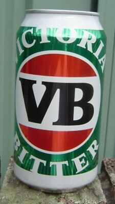 VB New Style 2018 Can  375ml  Bottom Opened Empty Limited Edition