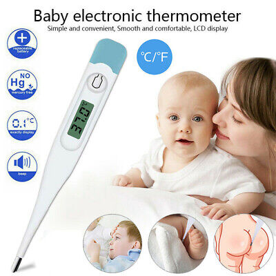 Digital LCD Thermometer Medical Body Temperature Mouth Underarm Adult Baby Kids