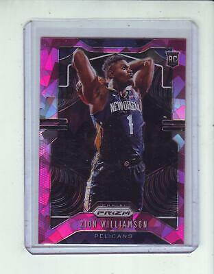 2019-20 Prizm Pink Ice #248 Zion Williamson Rc - New Orleans Pelicans