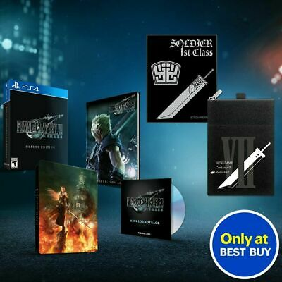 Final Fantasy VII Remake Premium Deluxe Edition